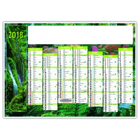 CALENDRIER NATURE