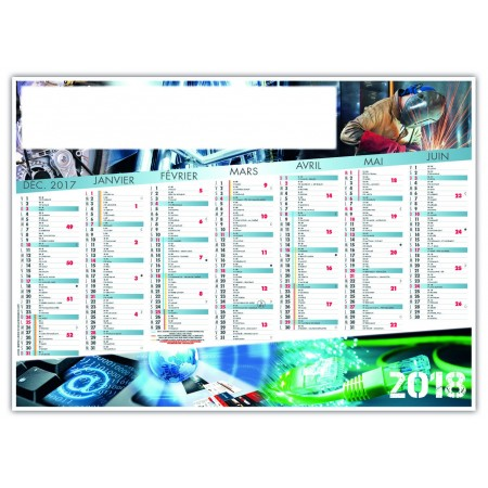 CALENDRIER INDUSTRIE