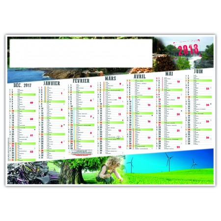 CALENDRIER DURABLE